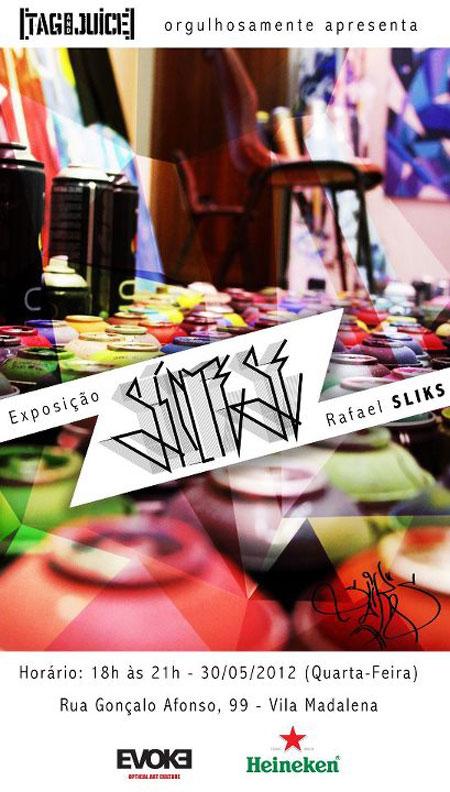 Exposição-Síntese-do-grafiteiro-Rafael-Sliks-em-São-Paulo